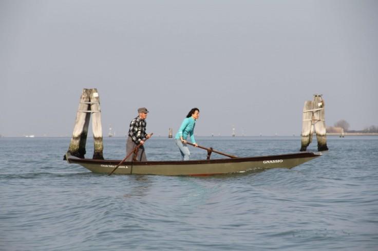 венеция лодки