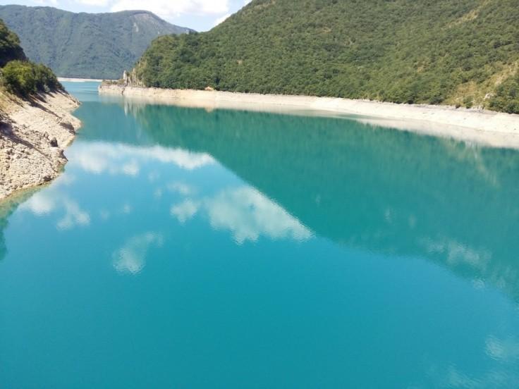 озеро пива черногория
