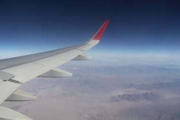 вид с самолета 1