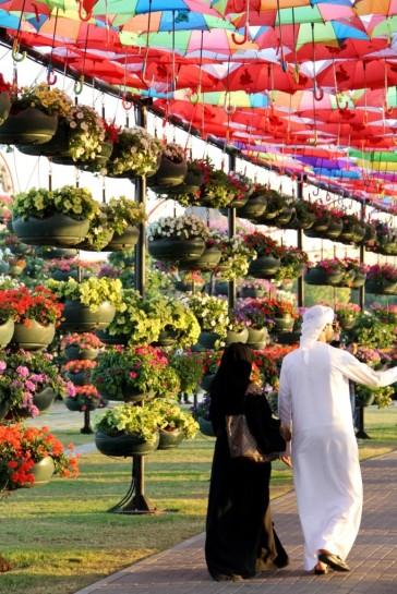 dubai miracles - цветочный сад 1