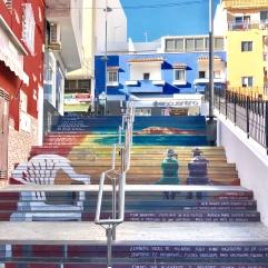 санта де круз лестницы