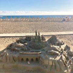 санта де круз пляж